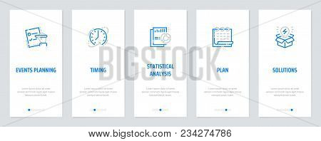Events Planning Timing Statistical Analysis