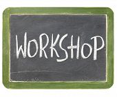 Workshop Blackboard Sign