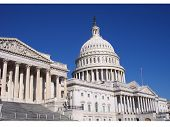 stock photo of capitol building  - the capitol building of the united states of america in washington - JPG