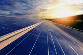 The Sun Goes Up To The Sky In Order To Store The Solar Energy In The Solar Cell. It Is A Renewable E poster
