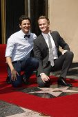 LOS ANGELES, CA - SEPTEMBER 15: Neil Patrick Harris; David Burtka at a ceremony where Neil Patrick Harris receives a star on the Hollywood Walk of Fame on September 15, 2011 in Los Angeles, California