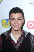 LOS ANGELES - AUG 21:  Adam Irigoyen at the D23 Expo 2011 at the Anaheim Convention Center on August