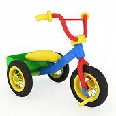 3D Illustration of a Trike