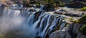 Shoshone Falls On The Snake River As Viewed From Shoshone Falls Park In Twin Falls, Idaho. poster