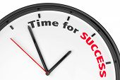 Time For Success Concept