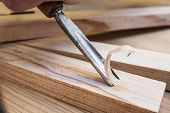 gouge wood chisel carpenter