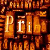 Print Orange