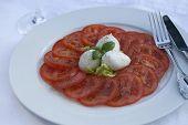Salada de Tomate Mozzarella
