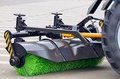 pic of sweeper  - A brand new tube street sweeper broom - JPG