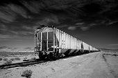 Empty Train Cars