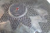 Detail, Intricate Silver Headpiece