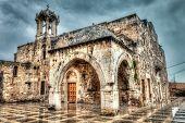 Ancient Church Byblos Lebanon