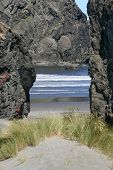 Volcanic Doorway To The Sea
