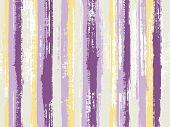 Watercolor Strips Seamless Vector Background. Torn Paper Effect Ethnic Design. Uneven Ink Hatch Vert poster