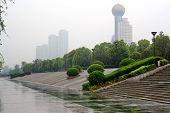 Embankment Yangtze river