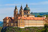 berühmte barocke Stift Melk (Stift Melk), Österreich