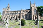 View of Dunfermline Abbey Church