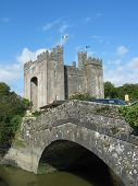 Medieval Castle and Bridge poster