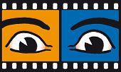 Eyes on film