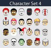 Character Icon Set 4