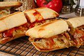 Hot Sub Sandwiches