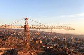 Crane And Yerevan