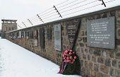 MAUTHAUSEN, AUSTRIA: 2012. Memorial del Holocausto de Mauthausen; Campo de concentración de Mauthausen