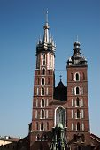 Mariacki Church In Krakow