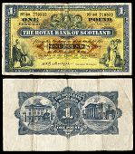 Old Scottish Bank Note