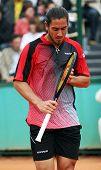 Argentina's Guillermo Canas At Roland Garros