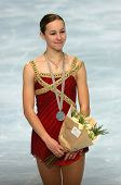 American Figure Skater Kimmie Meissner At The 2007 Eric Bompard Trophy