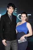 LOS ANGELES - MAR 19:  Nick Simmons, Sophie Simmons arrive at