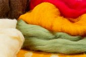 Colorful Merino Wool For Felting