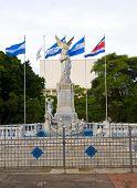 Statue Ruben Dario Plaza De La Republica Managua Nicaragua