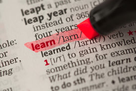 foto of pronunciation  - Learn definition highlighted in red in the dictionary - JPG