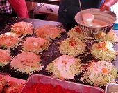Cooking Okonomiyaky poster