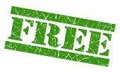 Free Green Grunge Stamp