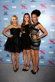 LOS ANGELES - NOV 4:  Sweet Suspense - Summer Reign, Celine Polenghi, Millie Thrasher at the 2013