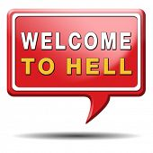 welcome to hell evil