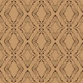 vintage vector argyle pattern, seamless background