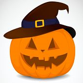 Pumpkin With Hat