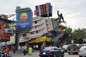 Famous Clifton Hills area in Niagara Falls, Canada