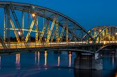 Bridge Connecting Two Countries, Slovakia And Hungaria