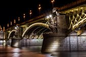 Margit Bridge In Budapest