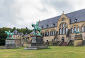 Mediaeval Imperial Palace In Goslar, Germany