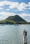 The Mount At Tauranga In Nz