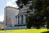 Wellington Beehive Parliament Buildings Nz