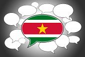 picture of suriname  - Communication concept  - JPG
