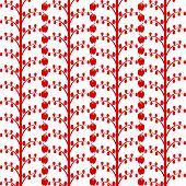 Background of apple tree pattern