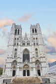 Cathedral of St. Michael and St. Gudula, Brussels,